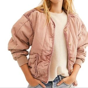 Free People We The Free Mixed Signals Liner Jacket